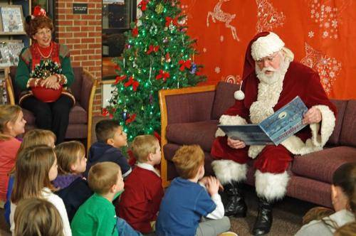 2017 Santa and Cookies at Walkertown Branch Library